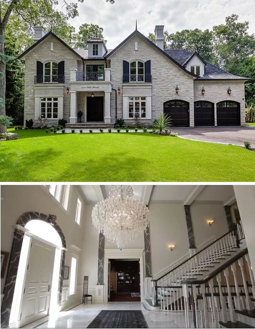 Custom Home Builders In Mississauga Design Build By Cresmark Luxury Homes In Mississauga