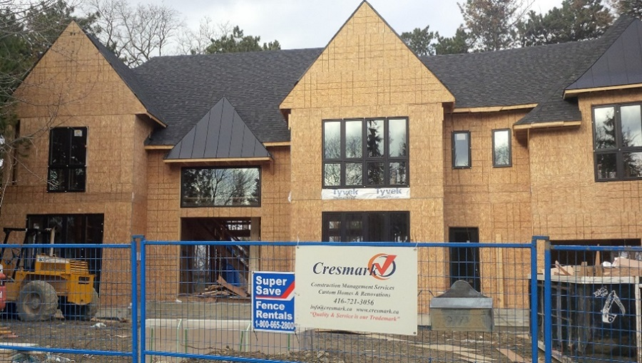 Cresmark Building a New Luxury Home