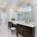 Elegant Bathroom Remodel with Dual Sinks
