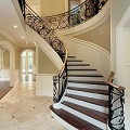 Beautiful Stairway & Front Foyer